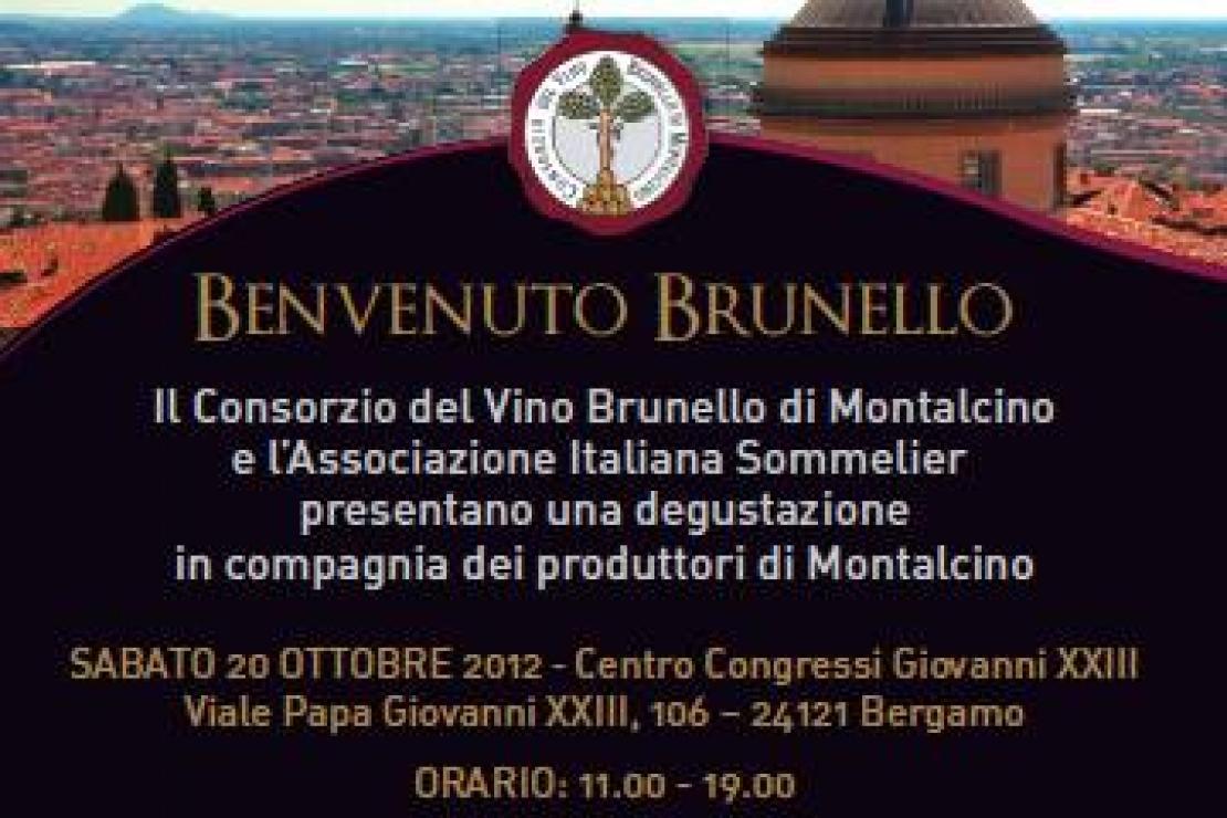 Benvenuto Brunello a Bergamo