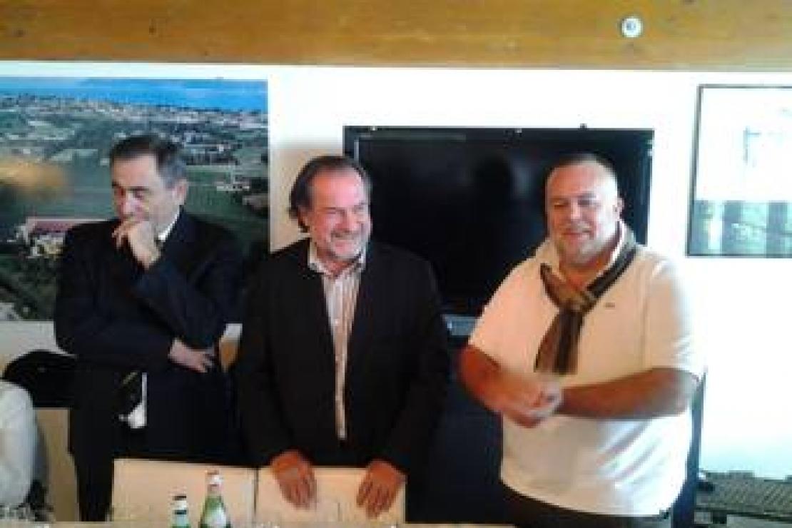 Michel Rolland con Ais Mantova