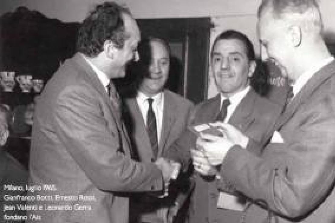 Jean Pierre Bacchetta. Tessera Ais N° 88