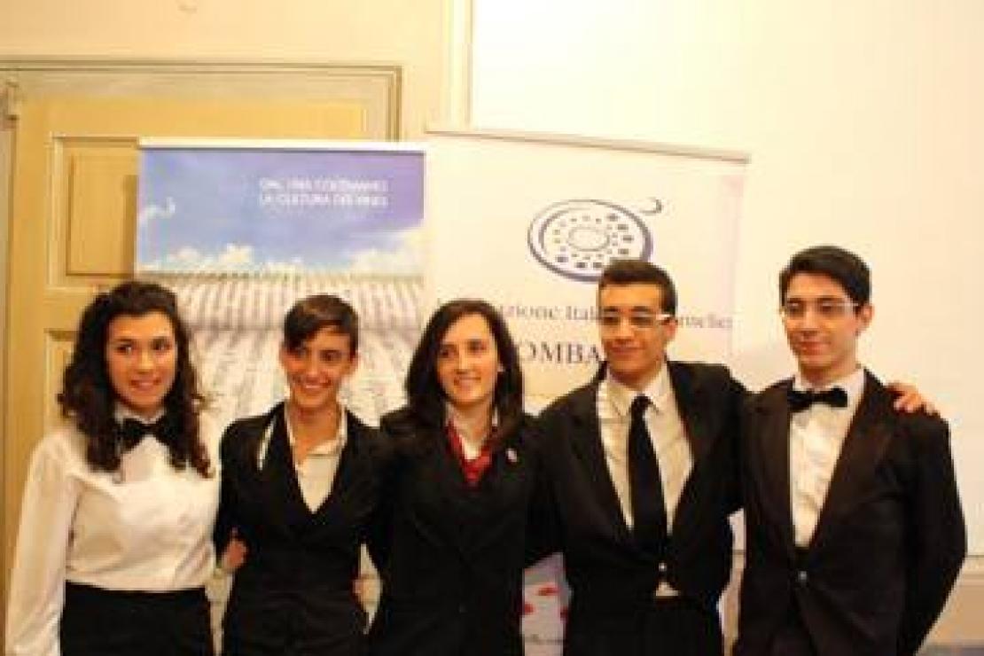 Elena Ribolzi è il Miglior Aspirante Sommelier Istituti Alberghieri di Lombardia 2013