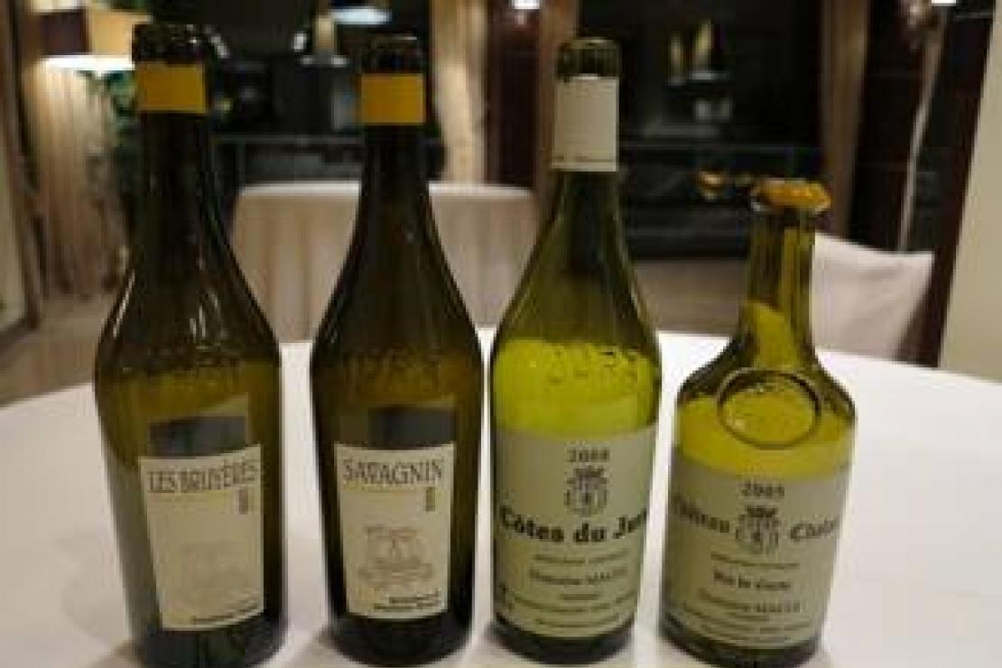 Viaggio al centro dell'Europa (parte II). I vini dello Jura