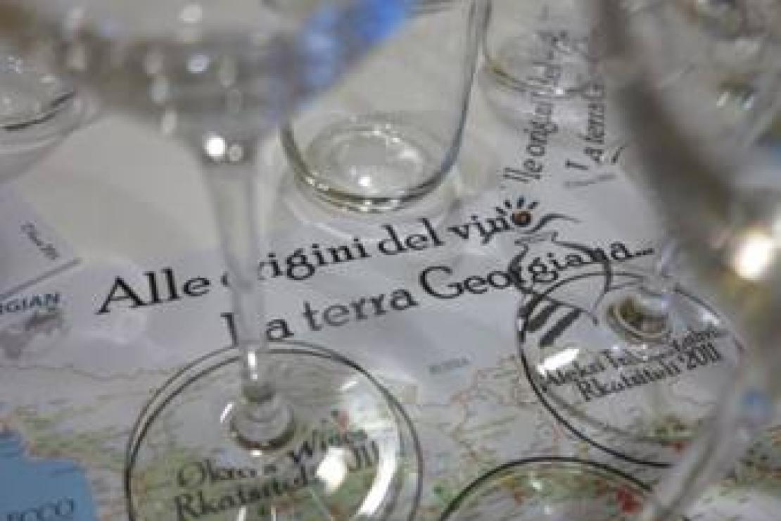 Alle radici del vino. La terra georgiana