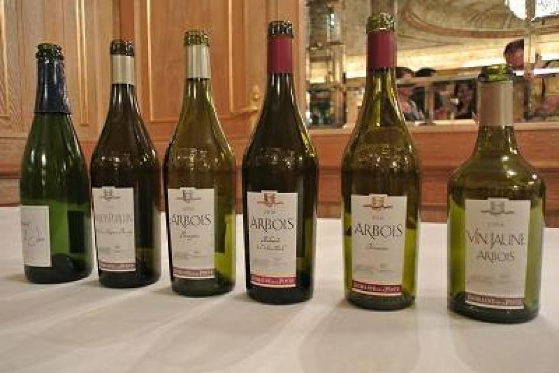 Domaine de la Pinte, Les vins du Jura