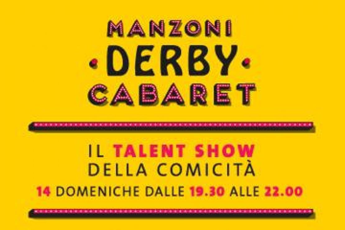 Manzoni Derby Cabaret. Riparte la stagione teatrale