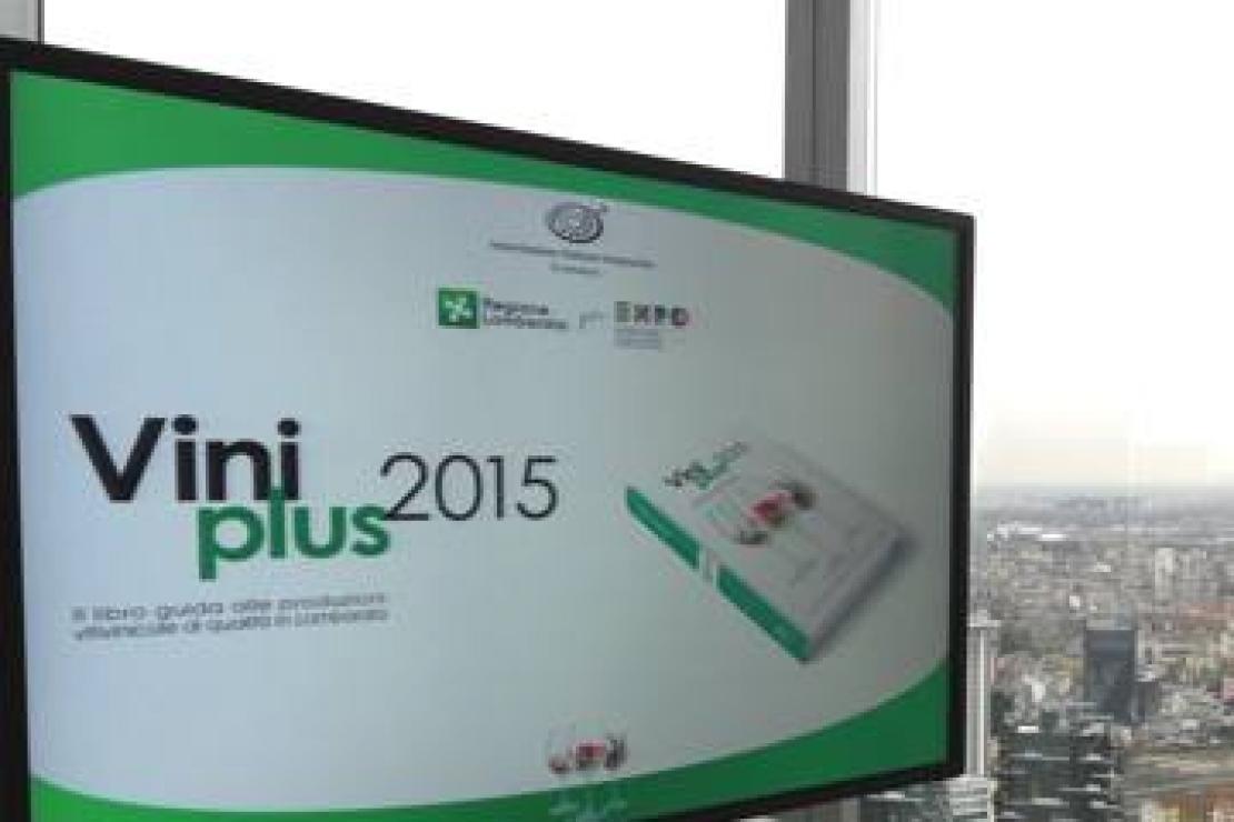 Guida Viniplus 2015. Decima edizione nel segno di Expo