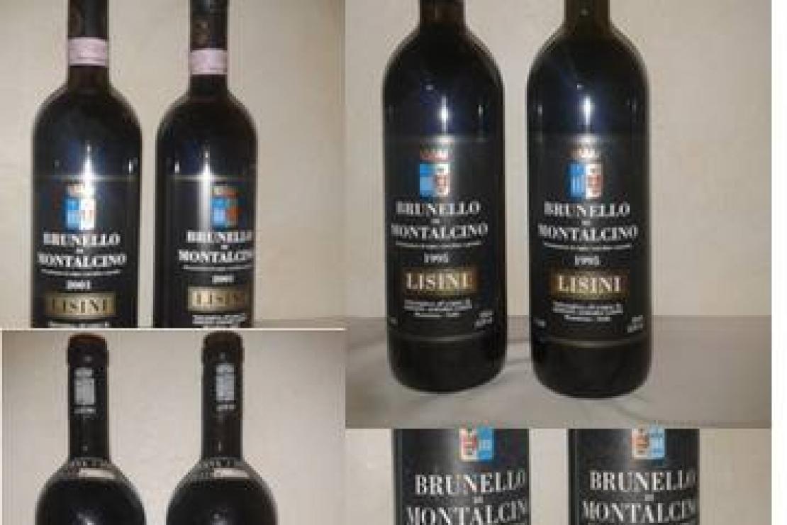 Lisini. Quattro introvabili Brunello di Montalcino