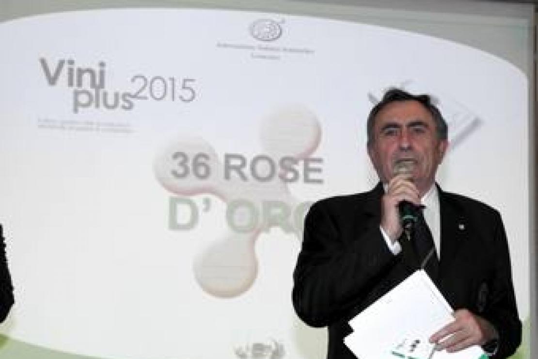 ViniPlus 2015. Le foto della premiazione delle Rose d'Oro