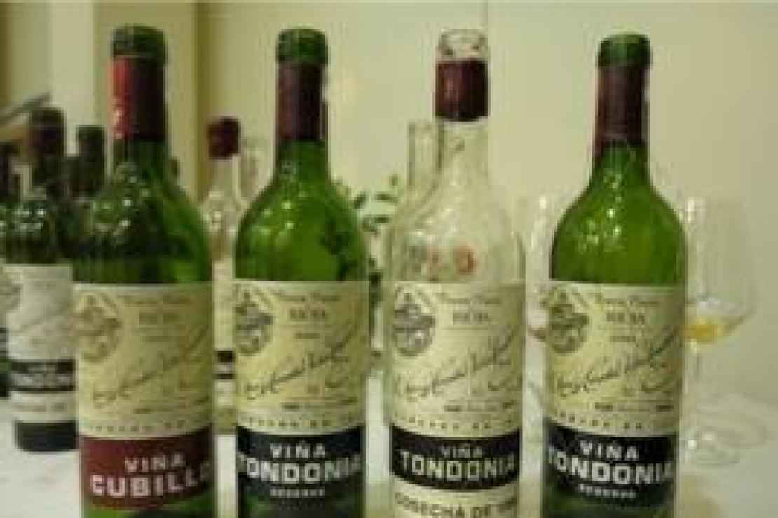 I vini della Rioja di López de Heredia