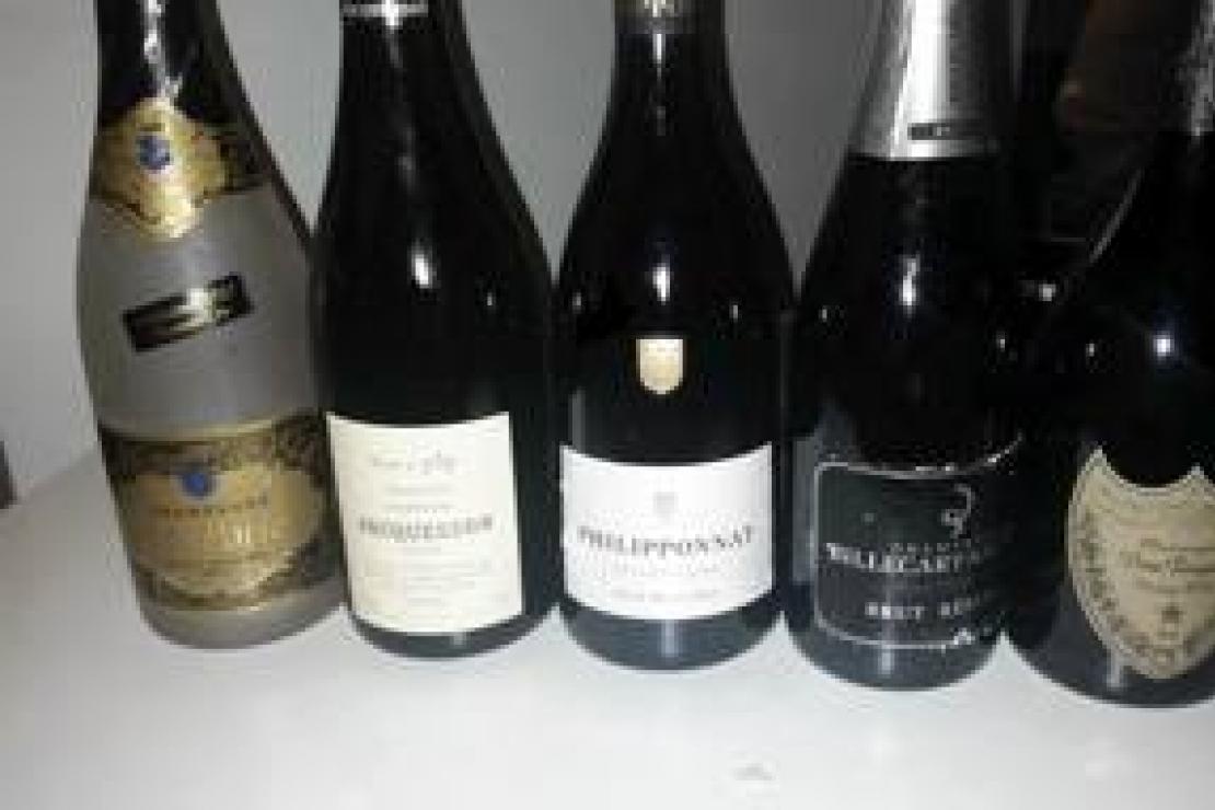 Vallée de la Marne: Monsieur Le Champagne a Bergamo