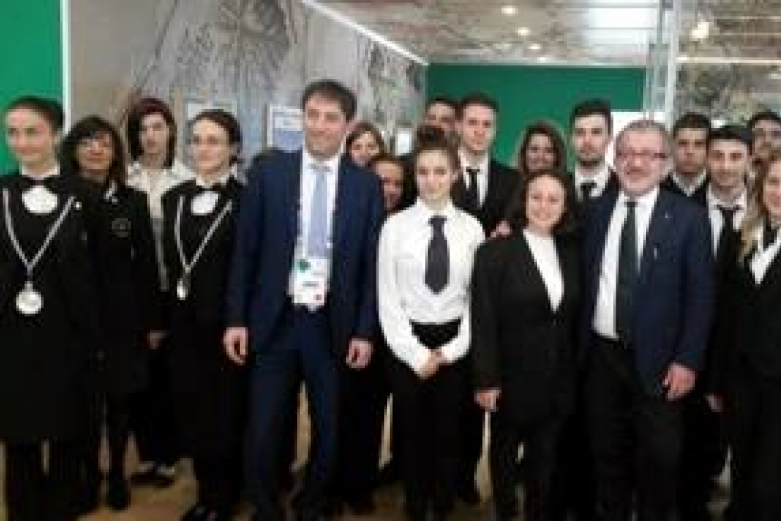Gli studenti dell'Istituto Superiore Falcone di Gallarate in visita ad Expo