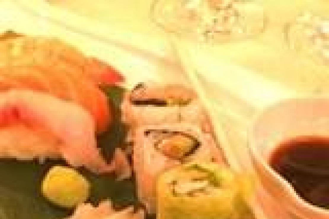 Sushi all�italiana e abbinamenti campano-nipponici