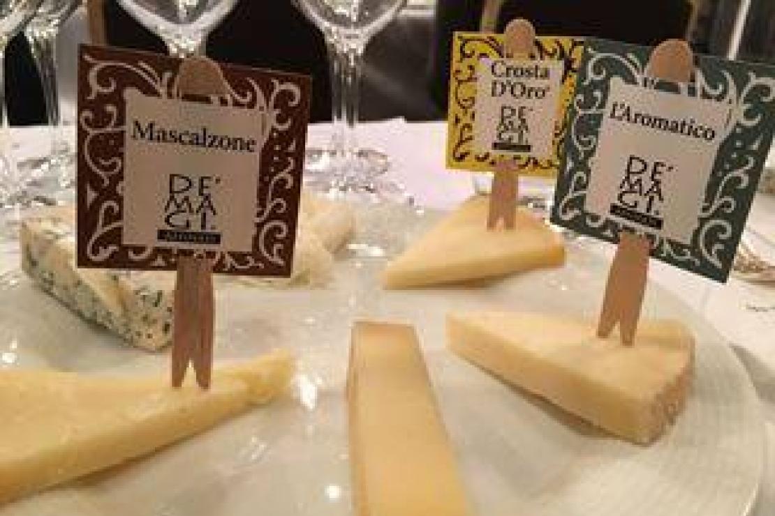 Vini e formaggi da divertimento