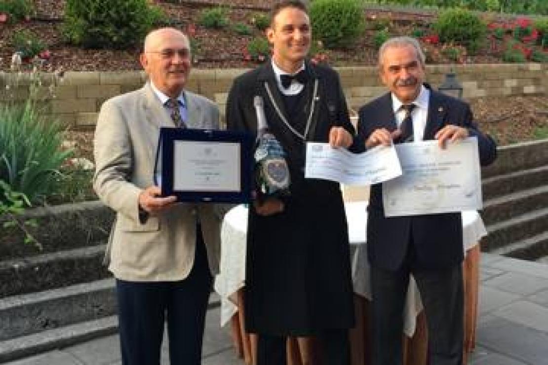 Andrea Montini è il Miglior Sommelier della Lombardia 2016