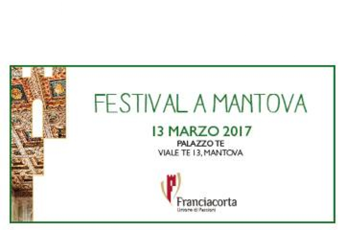 Festival Franciacorta a Mantova
