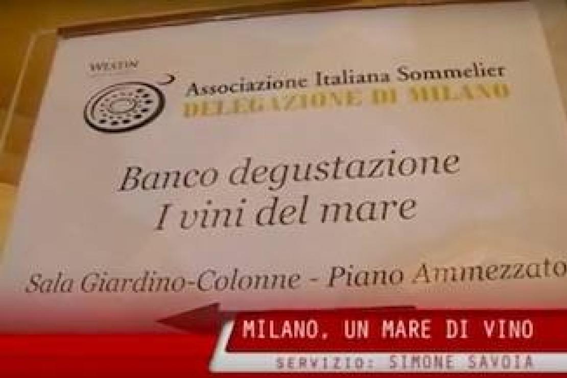 Milano, un mare di vino