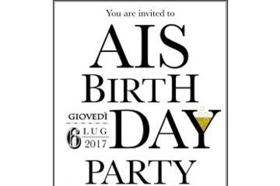52° anniversario AIS - Banco di degustazione