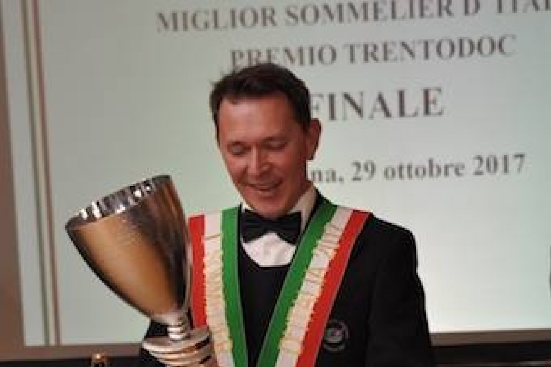 Miglior Sommelier d'Italia. A Taormina vince Roberto Anesi