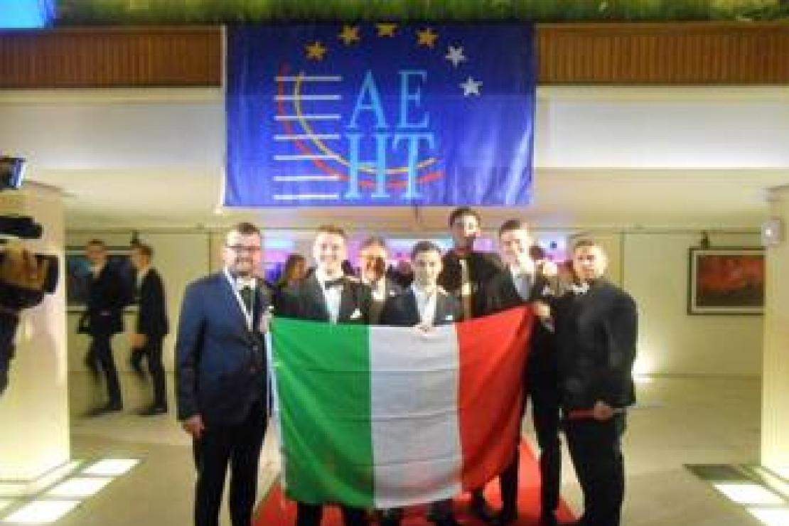 A Ostend in Belgio, grande successo per gli studenti dell'IS Falcone di Gallarate