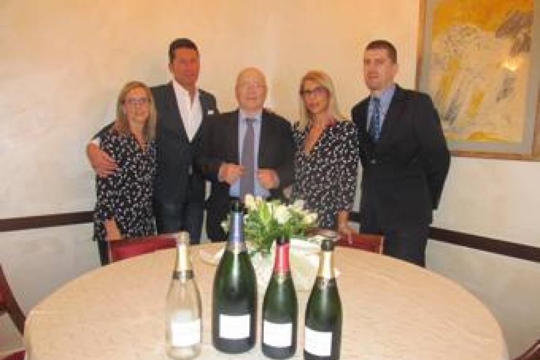 Ristorante Ma.ri.na, 20 anni di stella Michelin con lo champagne G.F. Duntze