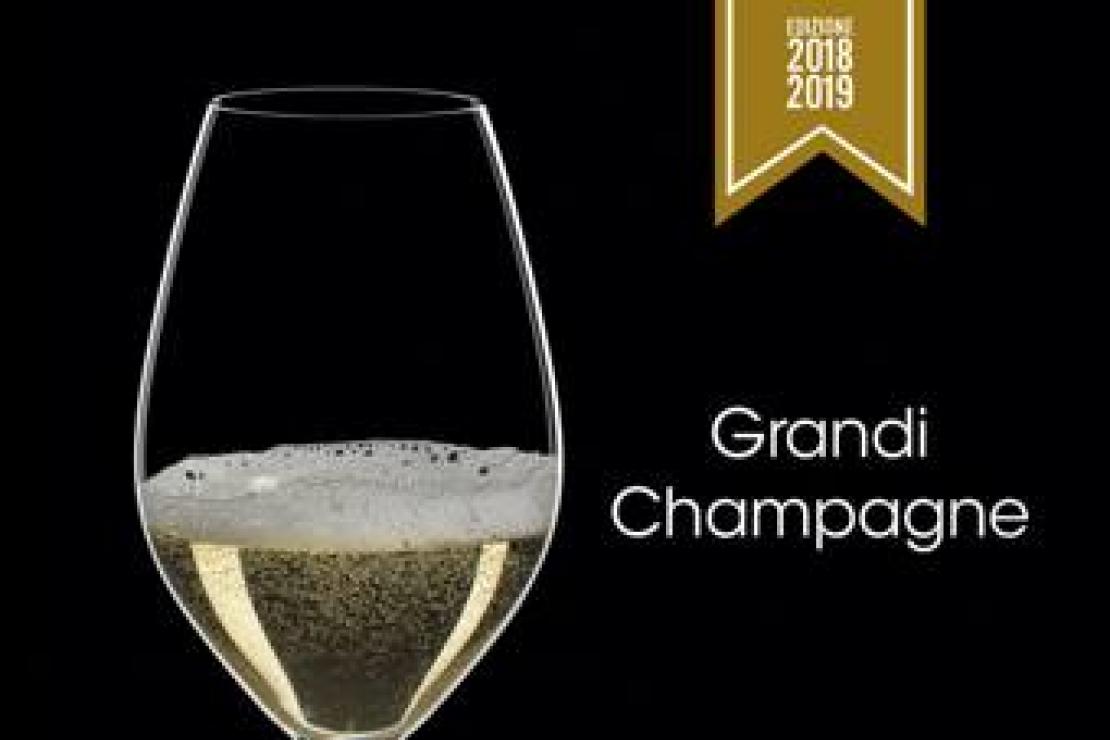 Grandi Champagne Edizione 2018-2019 Guida alle migliori bollicine francesi in Italia