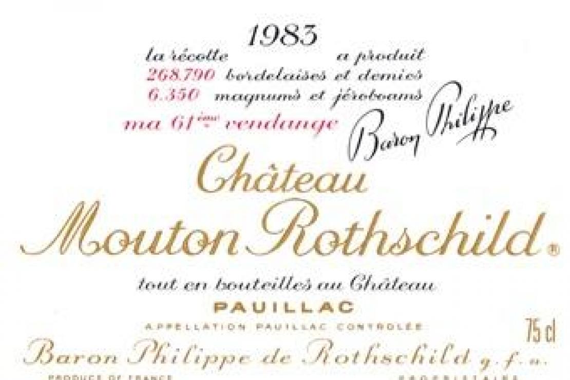 AIS Mantova | La serata delle stelle (con Château Mouton Rothschild 1983)