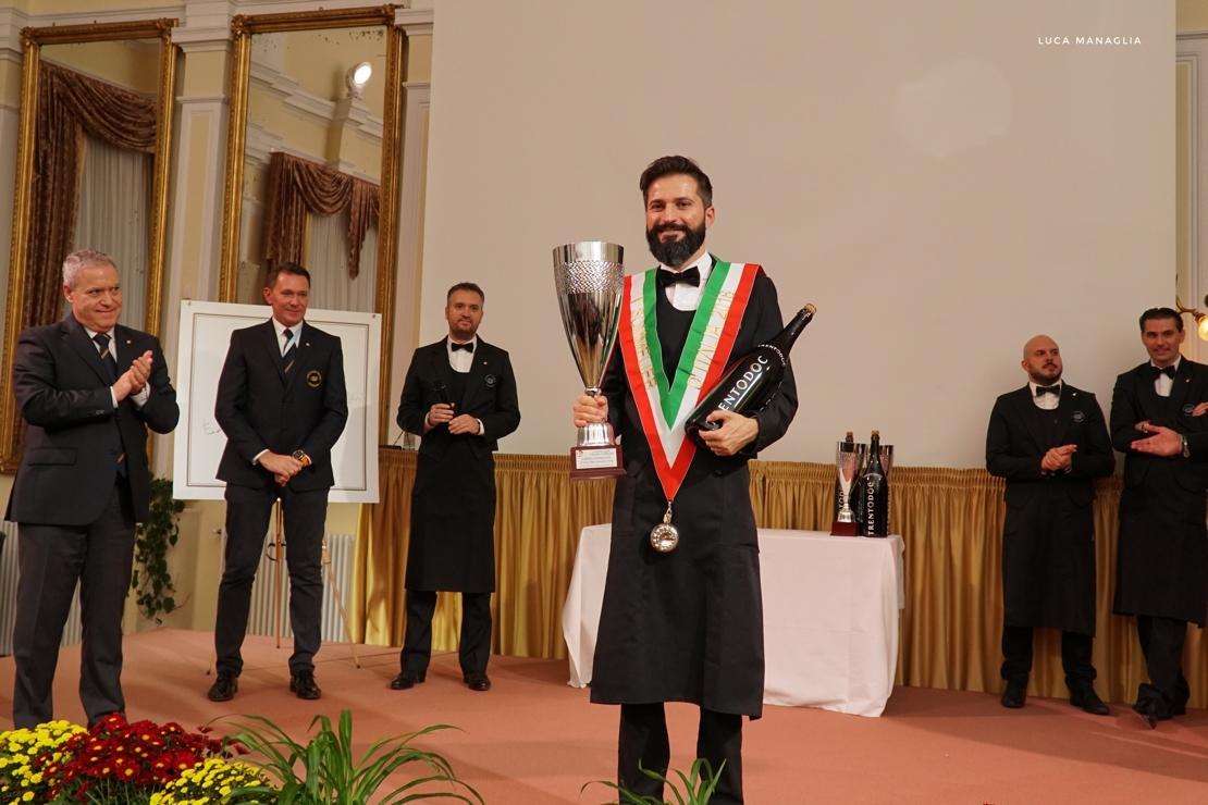 È Simone Loguercio il Miglior Sommelier d'Italia
