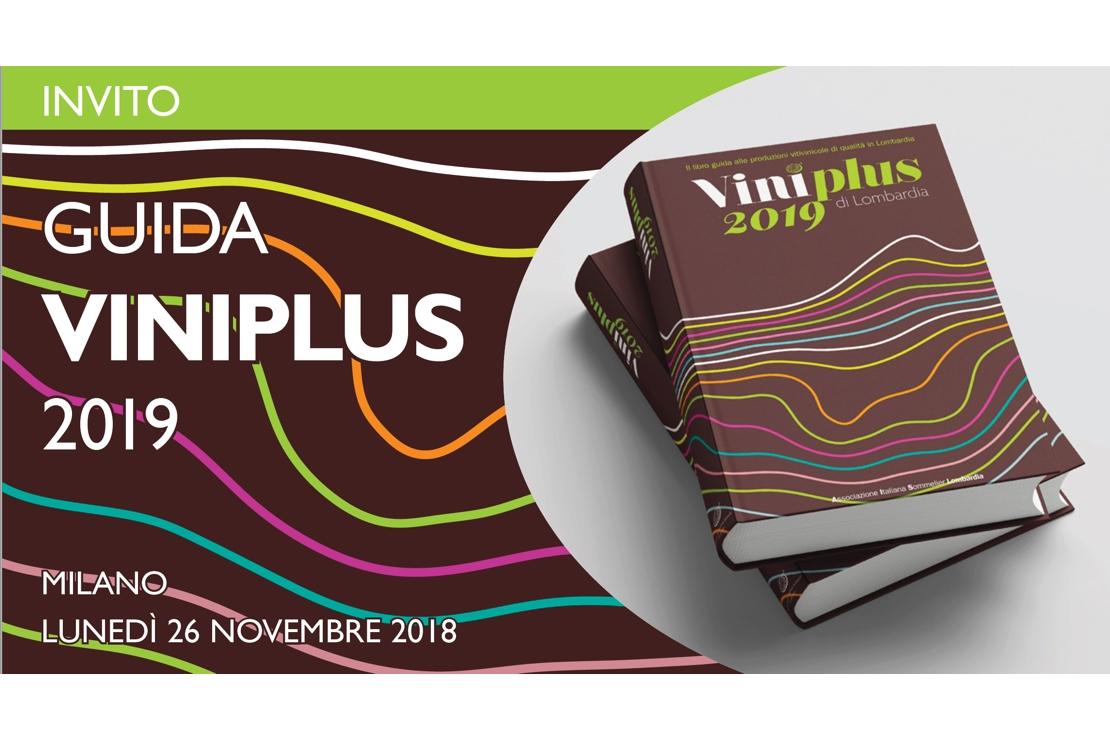Guida Viniplus 2019, la Presentazione e il Banco di Assaggio
