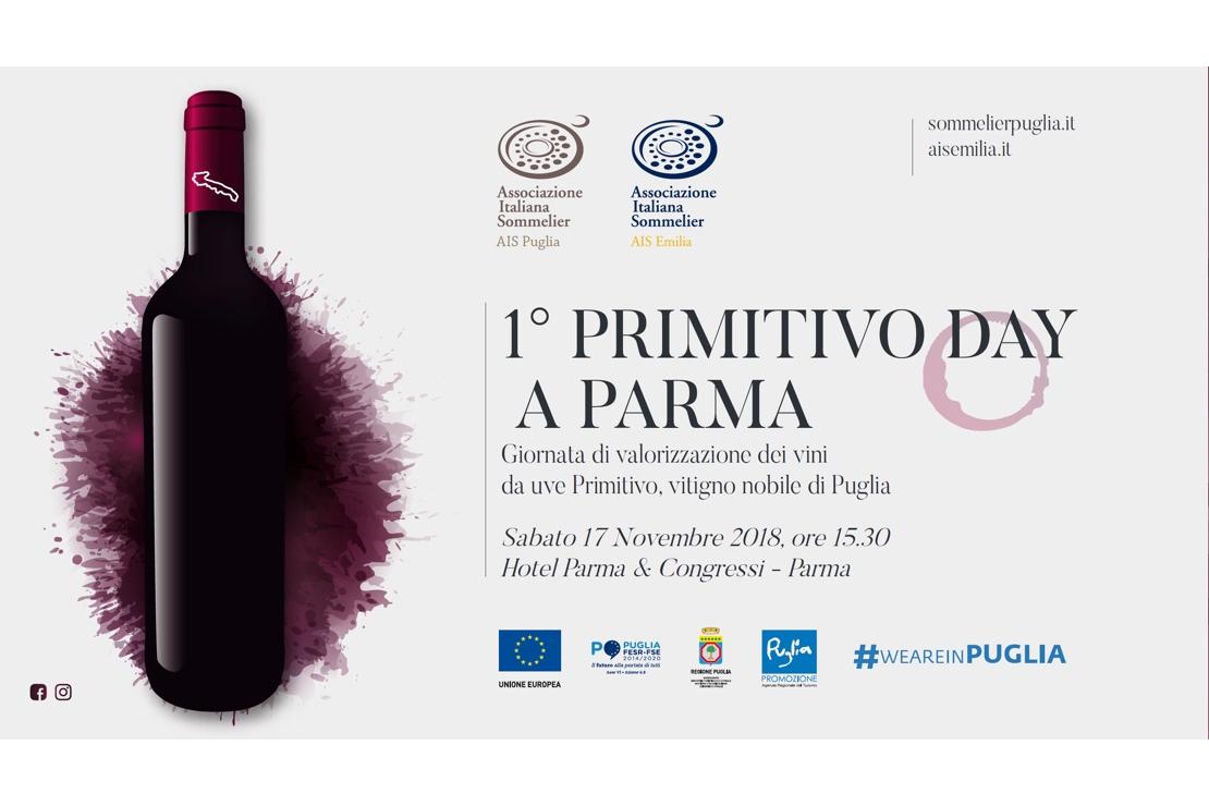 A Parma il Primitivo Day con AIS Puglia e AIS Emilia