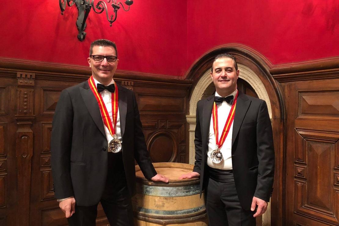 Due nuovi Chevalier per AIS Lombardia: Nicola Bonera e Luisito Perazzo