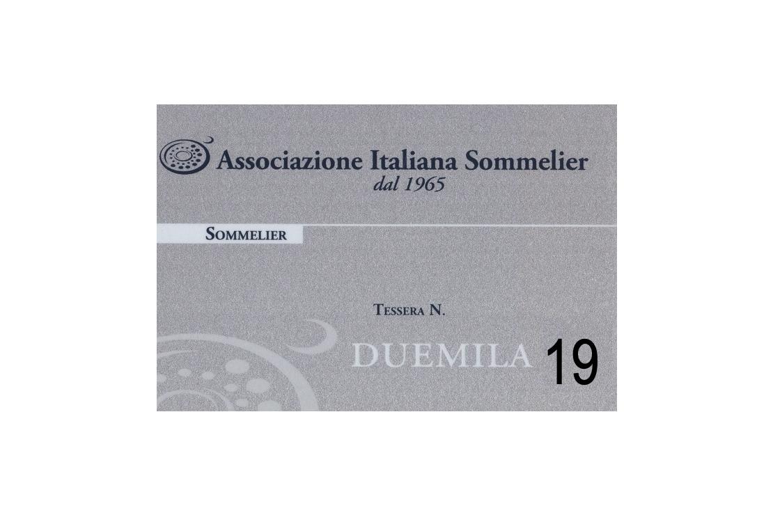 Rinnovo Quota Associazione Italiana Sommelier 2019