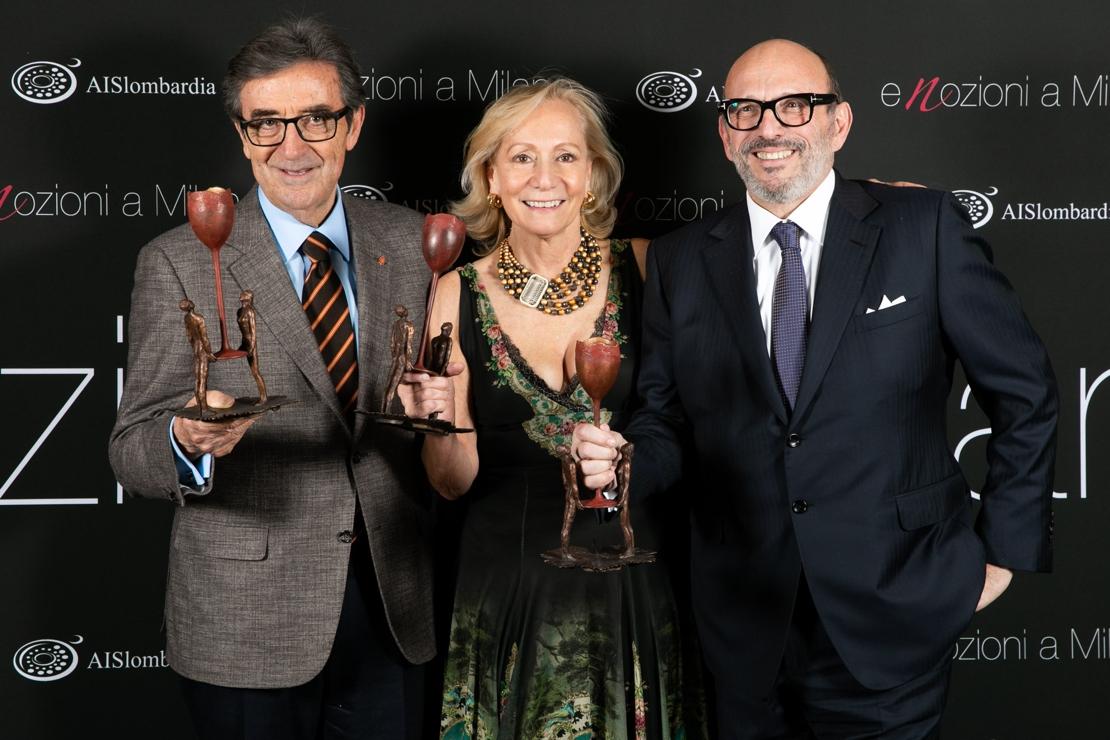 Assegnati i premi Enozioni a Milano