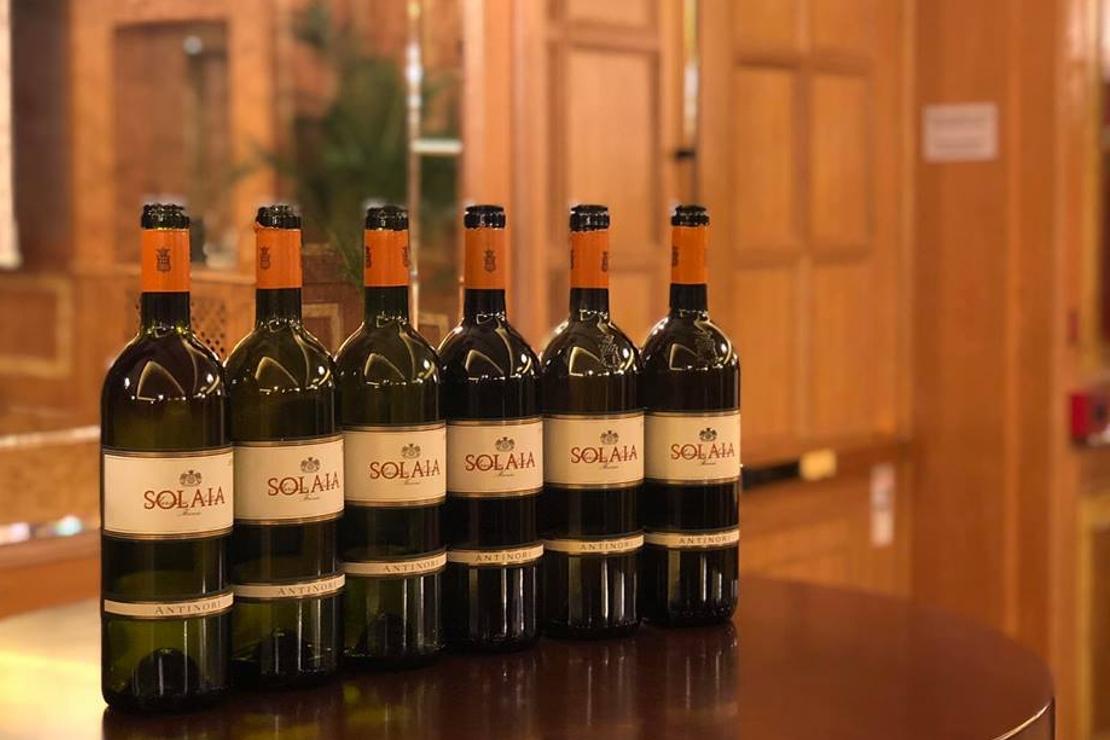 Solaia, il Rinascimento del vino italiano. Verticale di sei annate