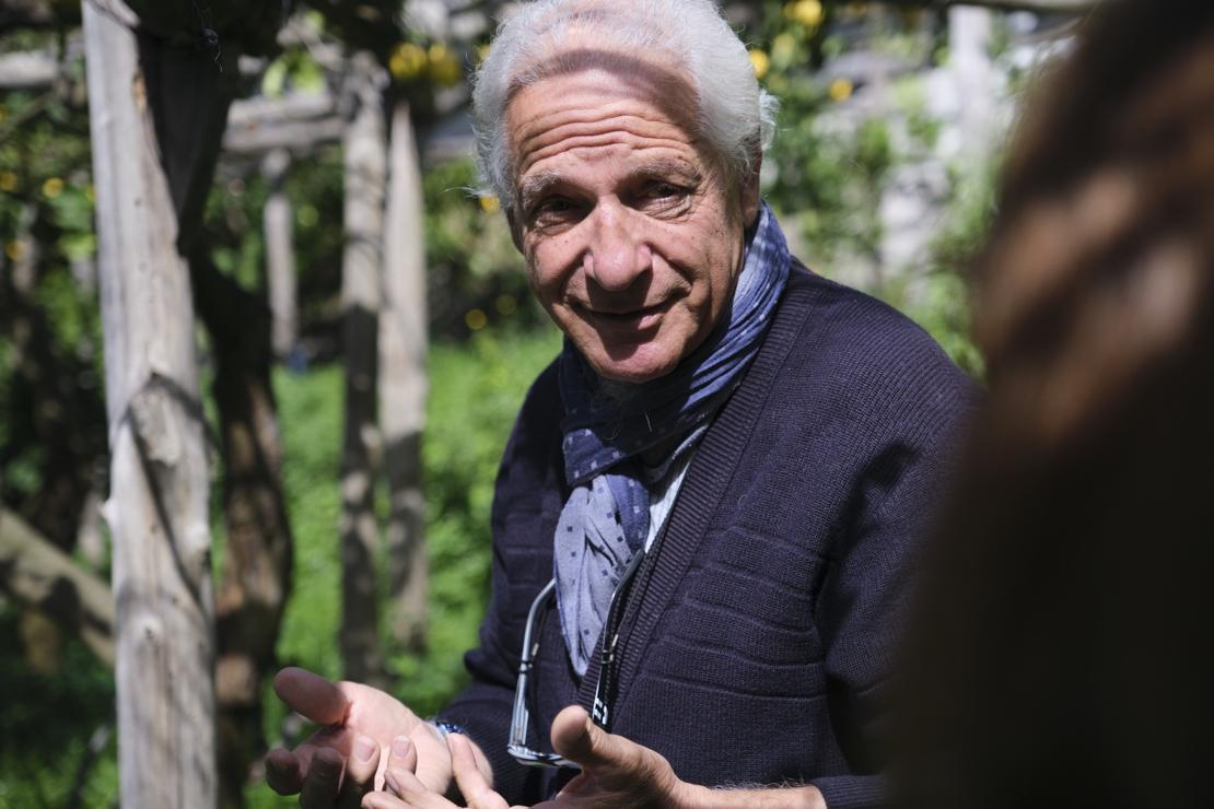 Raffaele Palma, in un calice il sole della Costa d'Amalfi