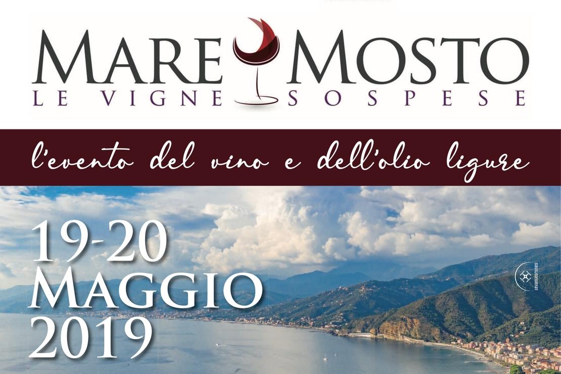 Mare&Mosto Le Vigne Sospese, a Sestri Levante il 19 e 20 maggio