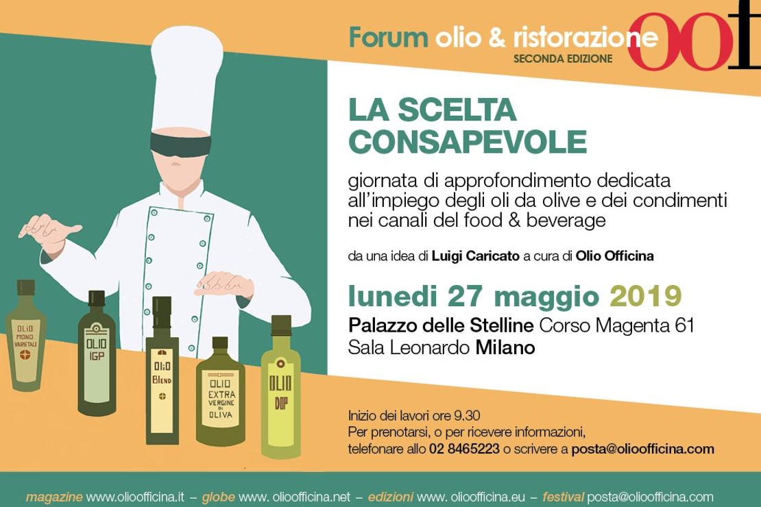 A Milano la seconda edizione del Forum Olio & Ristorazione