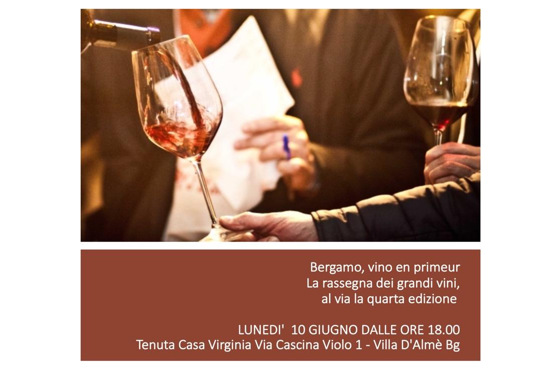 Bergamo, vino en primeur. Quarta edizione a Villa d'Almè