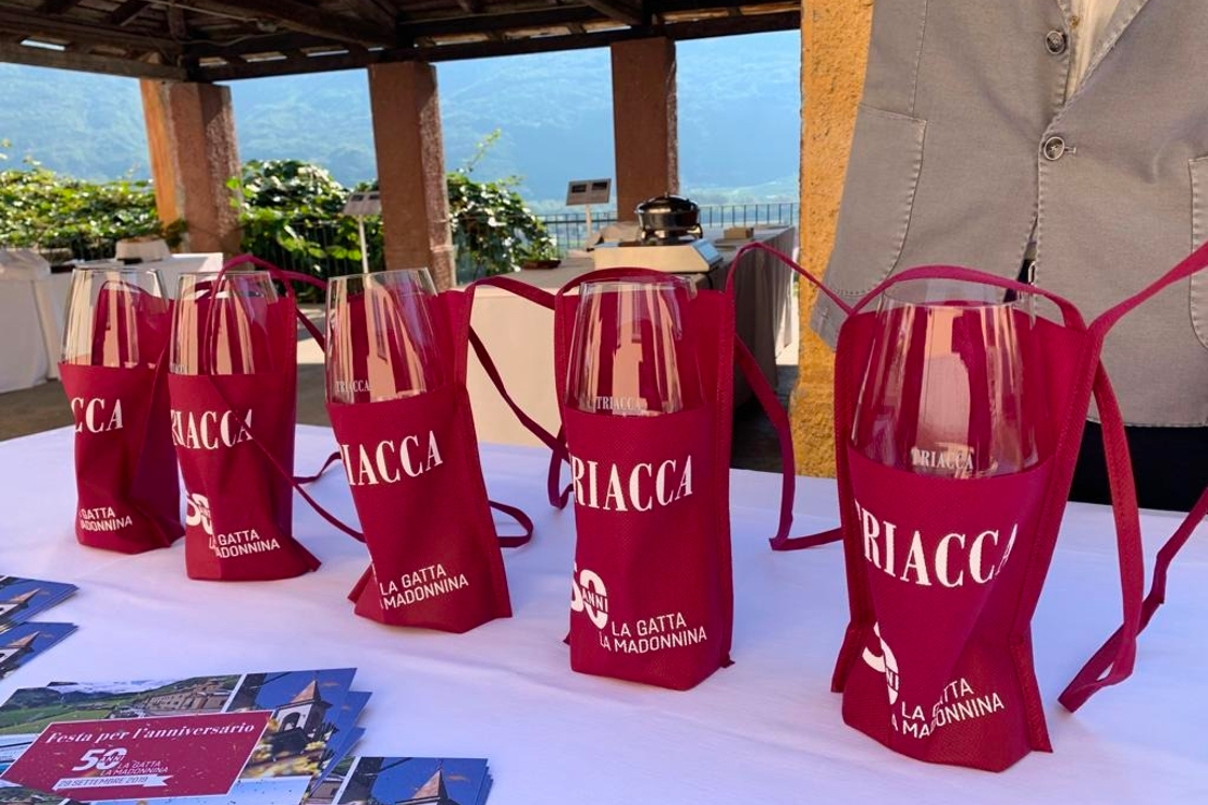 Triacca, 50 anni di festa tra Valtellina e Chianti Classico