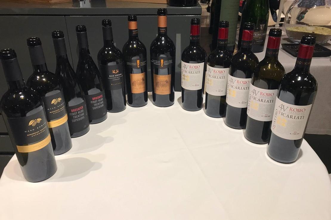 I grandi vini rossi del Trentino di Cavit