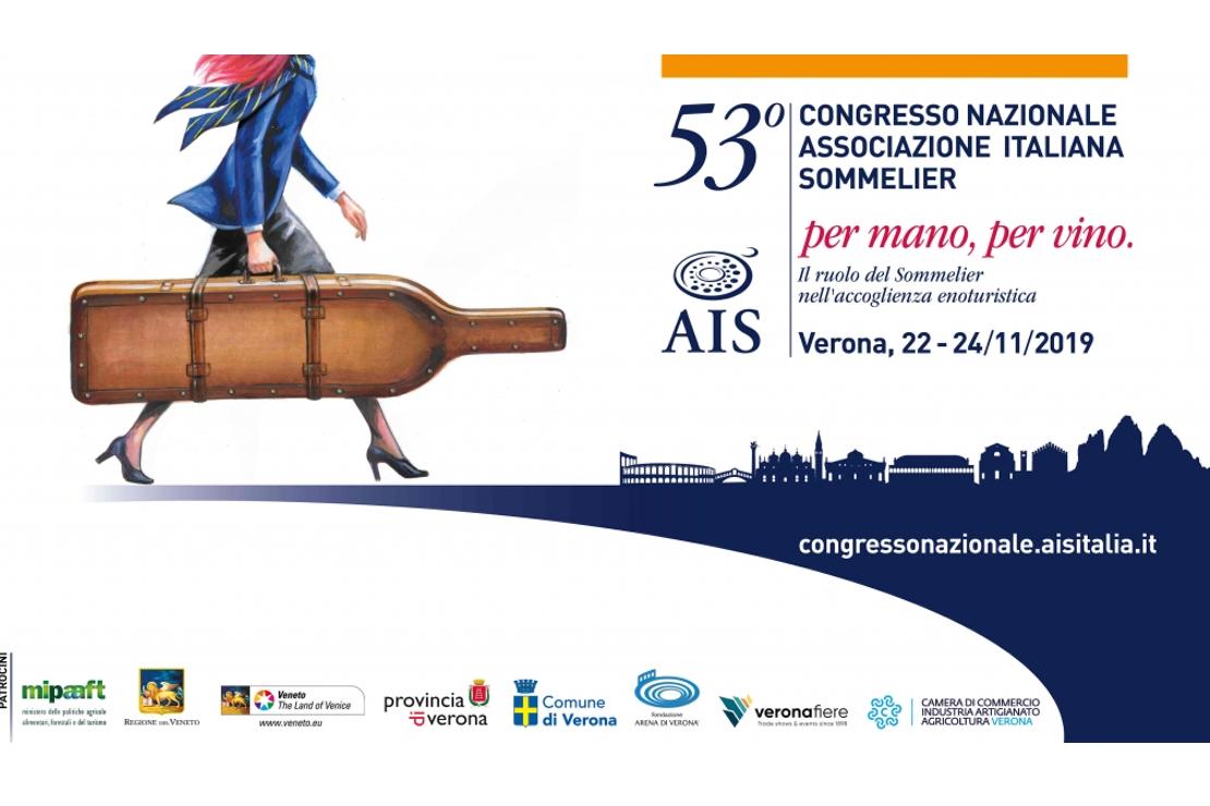 """53° Congresso Nazionale AIS. """"Per mano, per vino"""""""