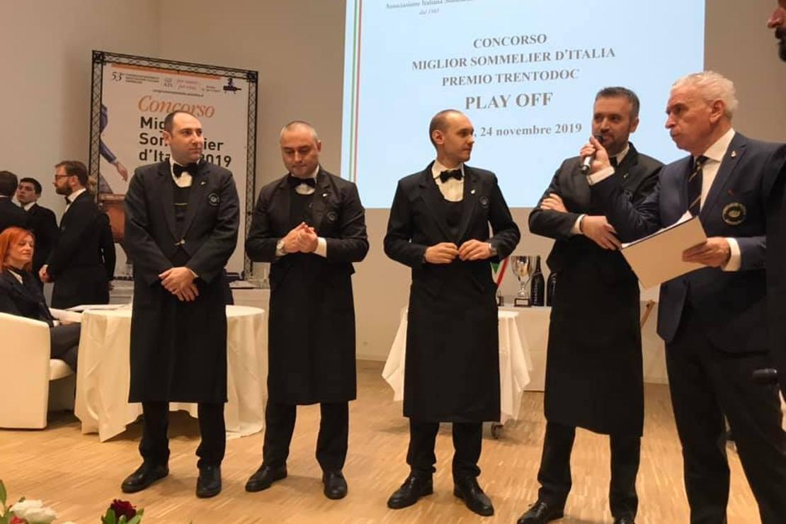 Due lombardi sul podio del Concorso Miglior Sommelier d'Italia Premio Trentodoc 2019