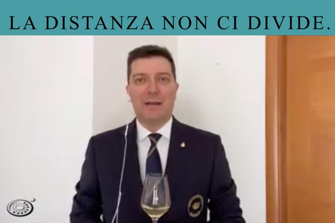 #ladistanzanoncidivide. La Franciacorta con Nicola Bonera
