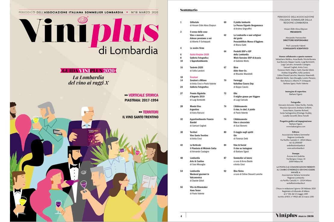 Viniplus di Lombardia - N°18 Marzo 2020