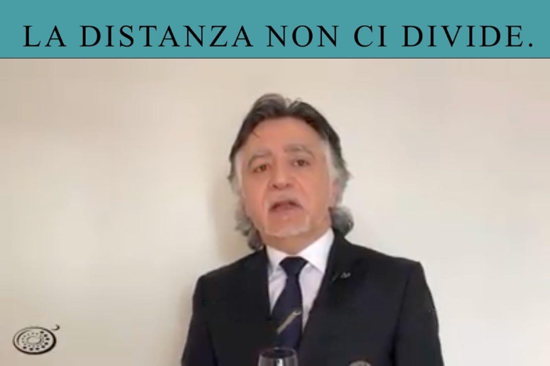 #ladistanzanoncidivide. Il Sagrantino di Montefalco con Gian Luca Grimani