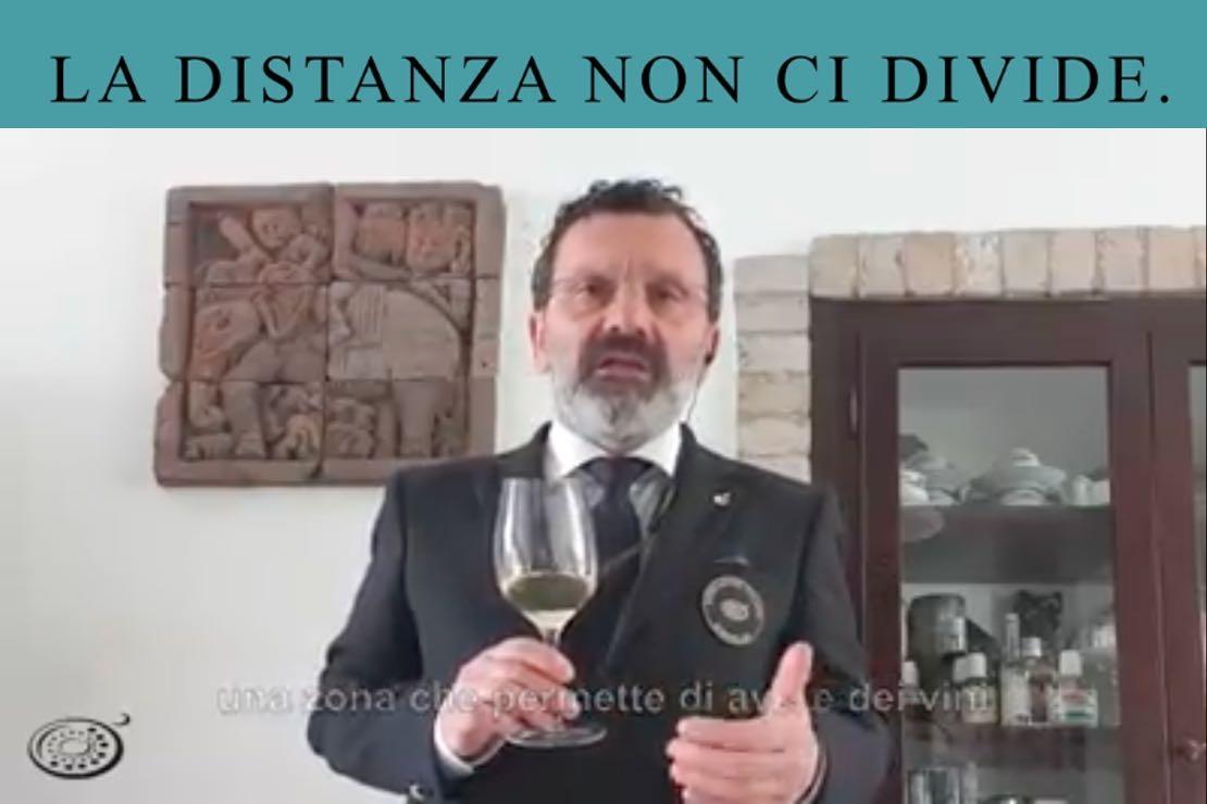 #ladistanzanoncidivide. Il Verdicchio dei Castelli di Jesi con Stefano Isidori