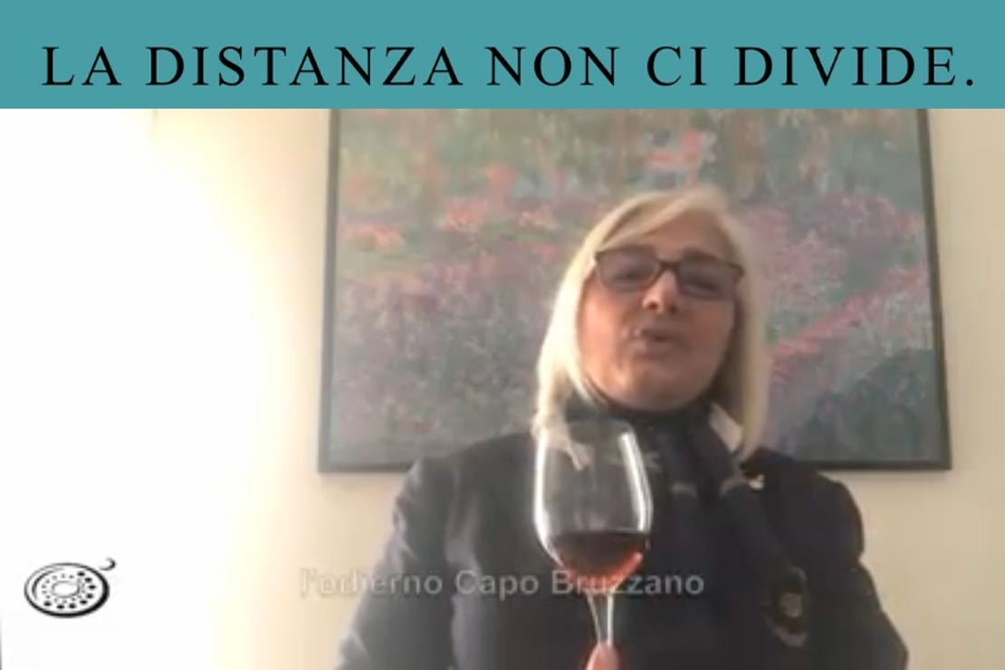 #ladistanzanoncidivide. Il Greco di Bianco con Maria Rosaria Romano