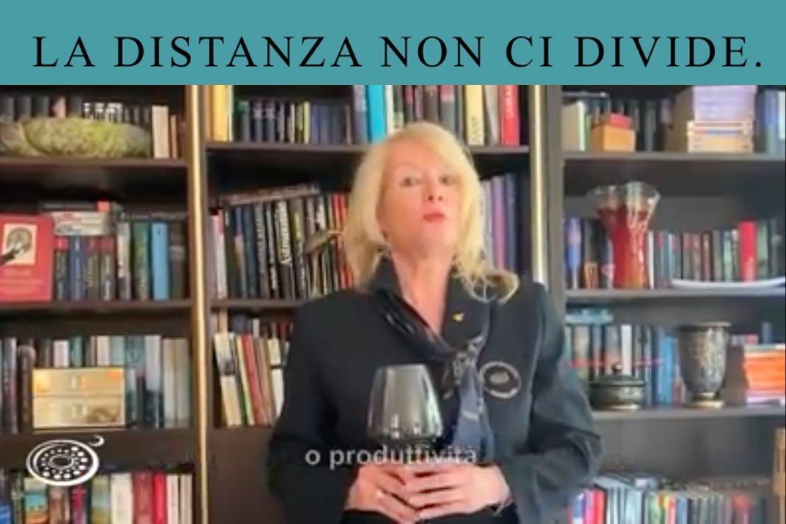 #ladistanzanoncidivide. Il lagrein con Christine Mayr