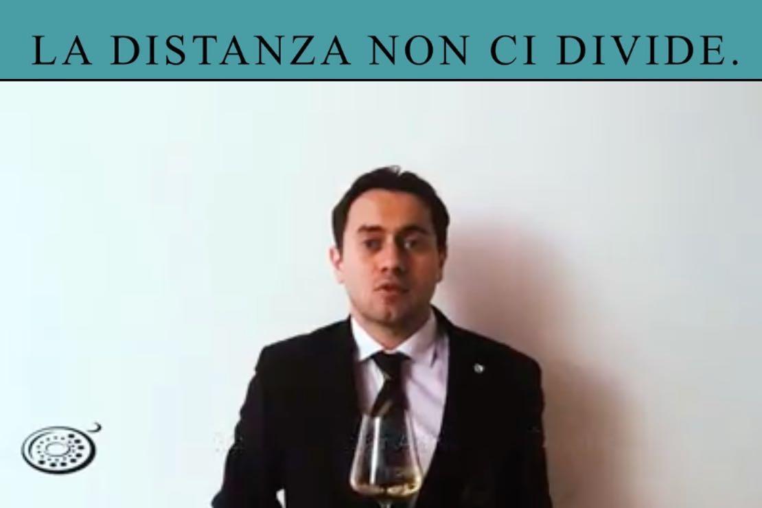 #ladistanzanoncidivide. L'Albana di Romagna con Marco Casadei