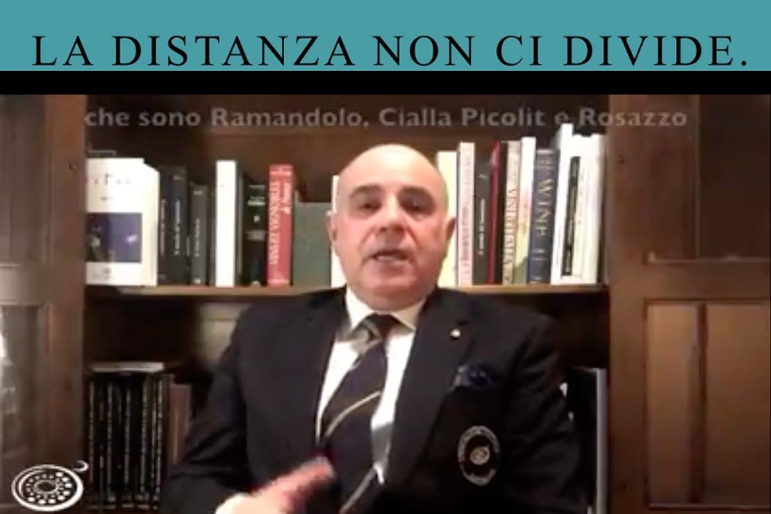 #ladistanzanoncidivide. Friuli Colli Orientali con Renzo Zorzi