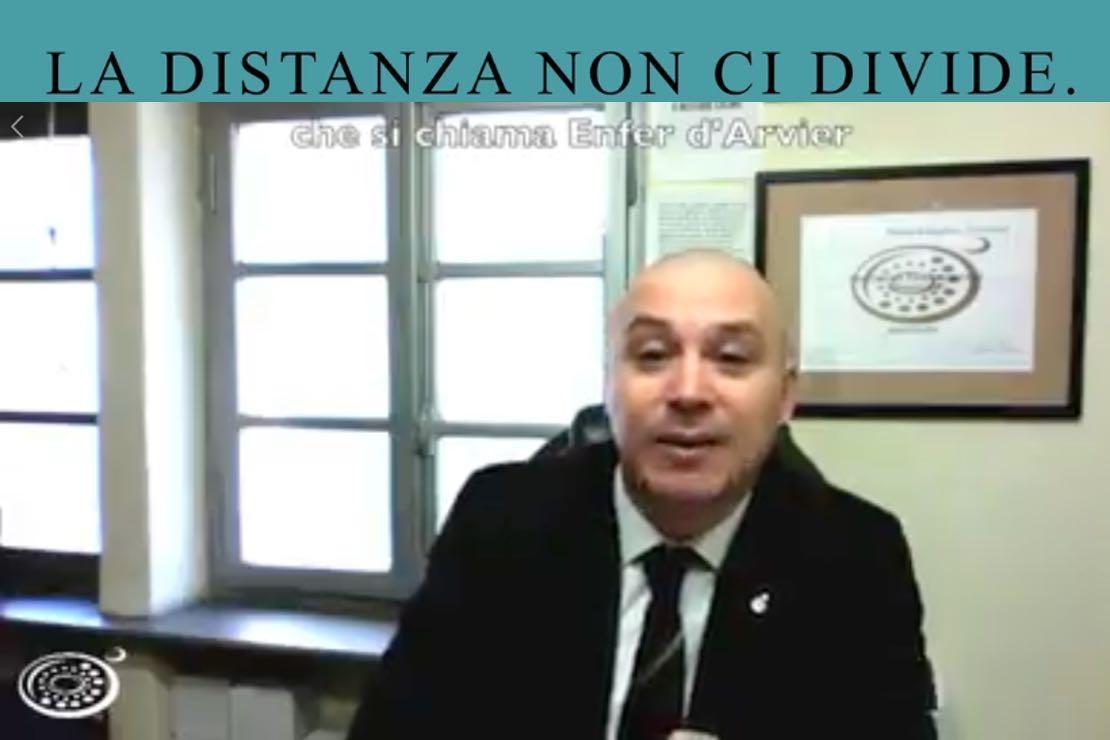 #ladistanzanoncidivide. L'Enfer d'Arvier con Alberto Levi