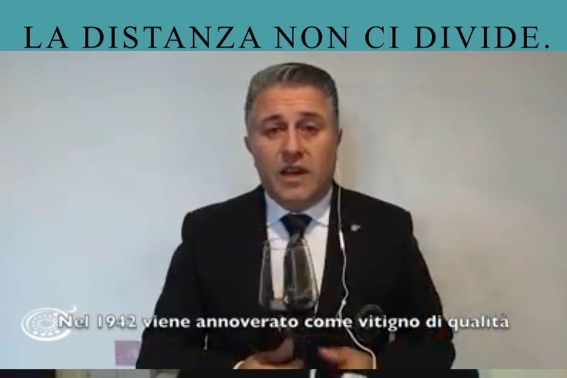 #ladistanzanoncidivide. Il Cesanese del Piglio con Luigi Di Tofano